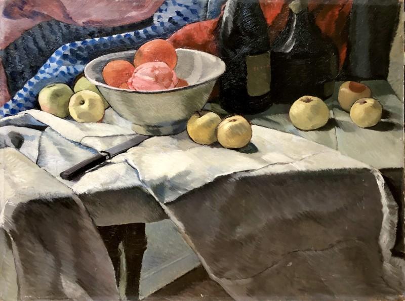 Dorothy Hepworth, Still Life with Fruit, 1926