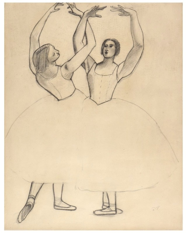 André Derain (1880-1954)Danseuses II (For the Ballets Russes), 1927