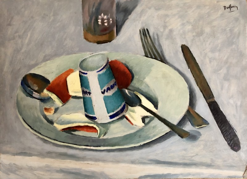 Jacques André Duffour, Still Life Table Top, c. 1958