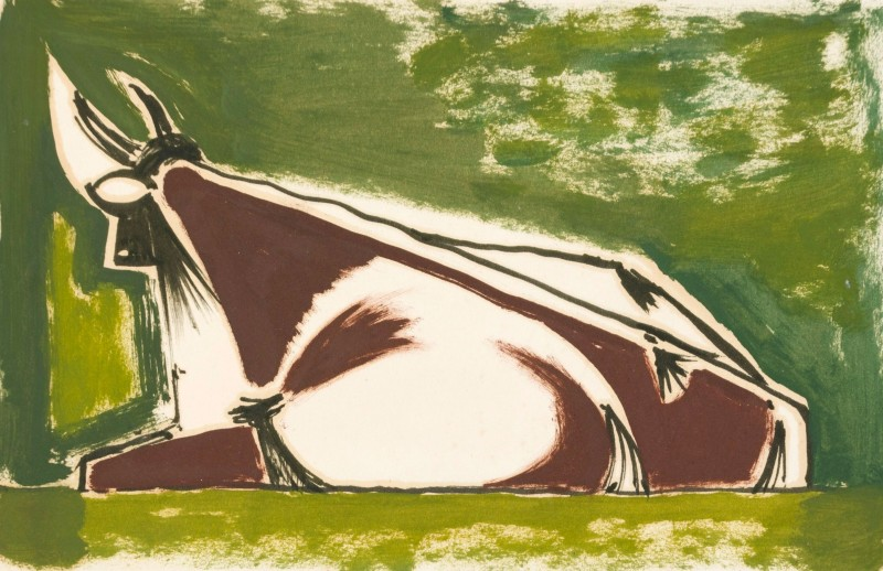 Kenneth Lauder, Cow, 1954