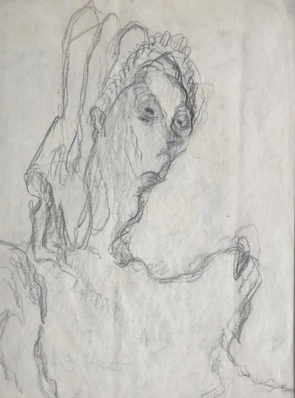 Vera Cuningham (1897-1955)Edith Sitwell, c. 1950