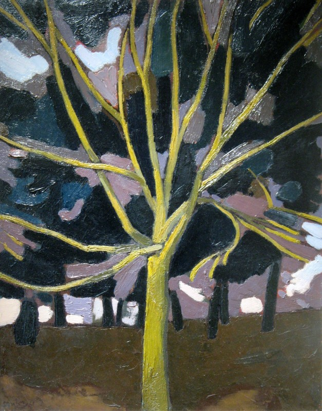 Bryan Senior (b. 1935)Yellow Tree, 1961