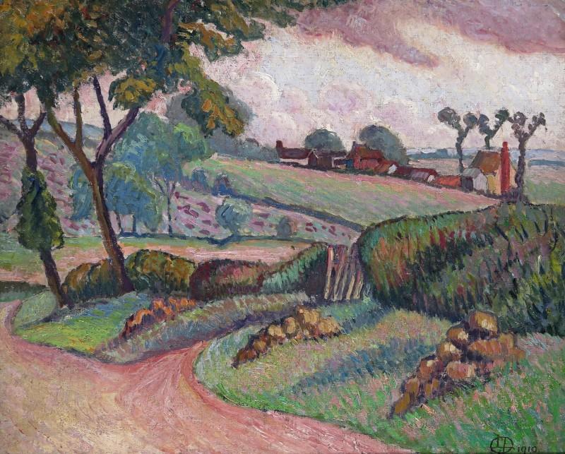 Lucien Pissarro (1863-1944)Duton Hill, Essex, 1910
