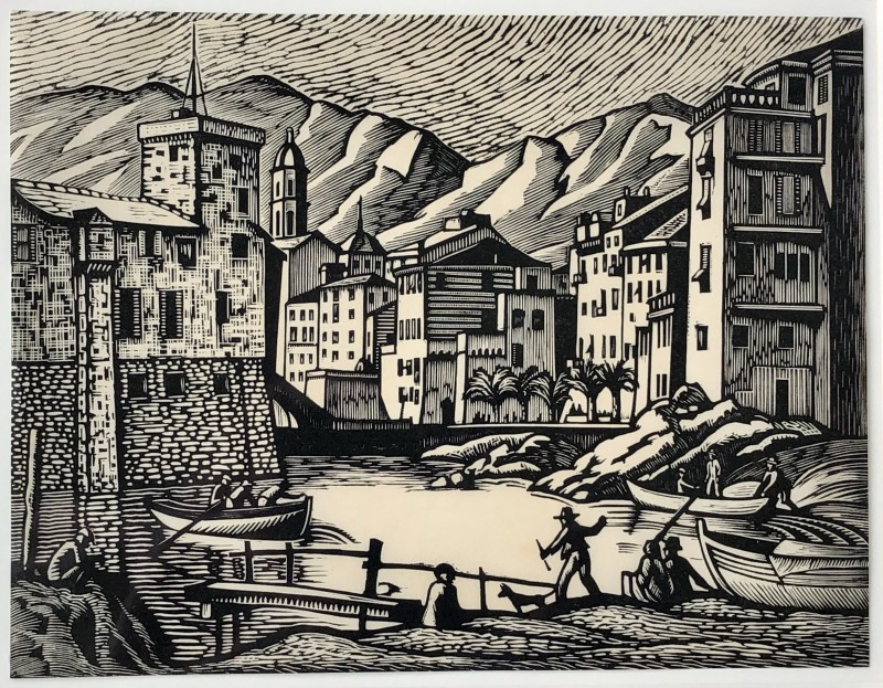 Ethelbert White, Rapallo (Old Rapallo), 1924