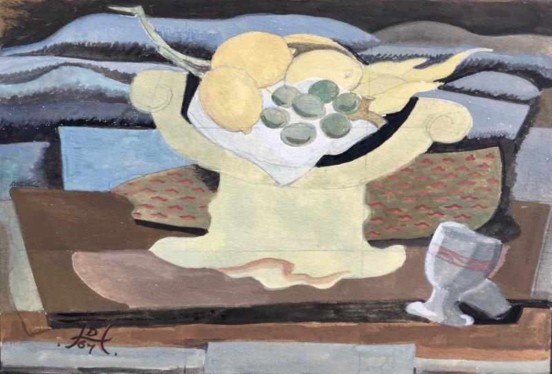 Doris Hatt (1890-1969)Still Life with Fruit, 1967