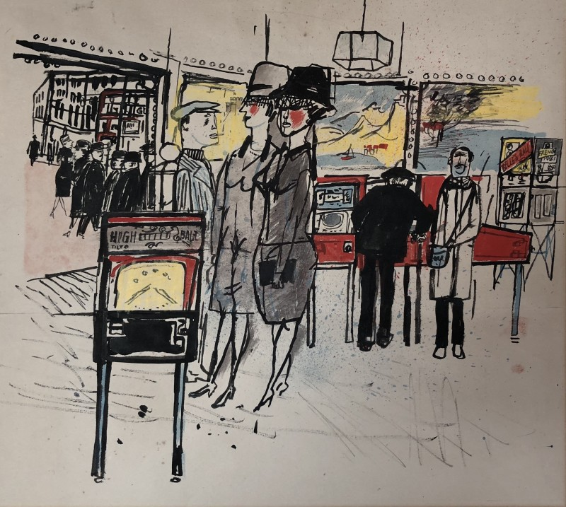 James Boswell (1906-1971)Soho, c. 1955