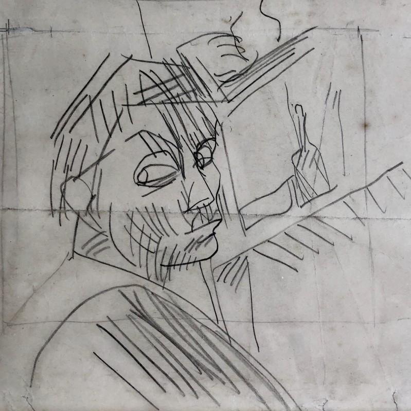 Duncan Grant (1885-1978)Self Portrait, 1914