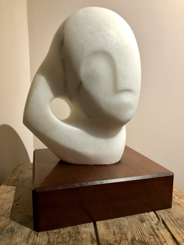 Eric Stanford, Bust in White Marble, c. 1980s