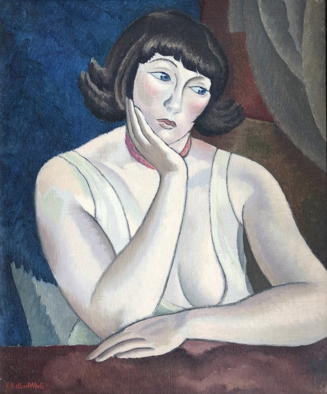 Ethelbert White (1891-1972)Portrait of Betty, c. 1925