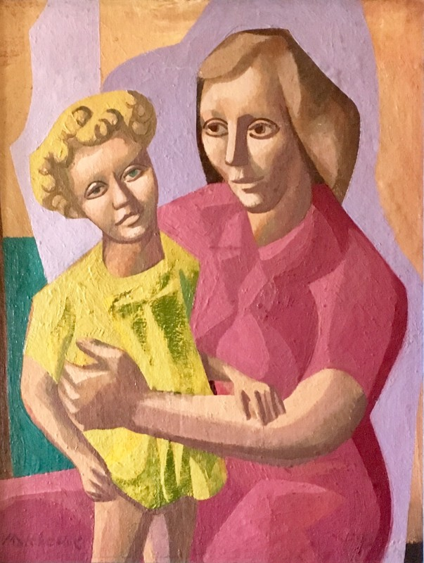 Eric Malthouse (1914-1997)Mother and Child, 1950
