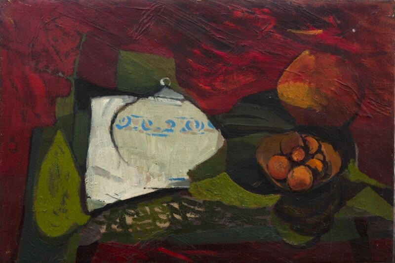 Kenneth Lauder, The Ginger Jar and Oranges, 1955