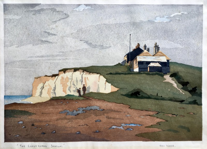 ERIC SLATER The Coastguard Station, c. 1930s