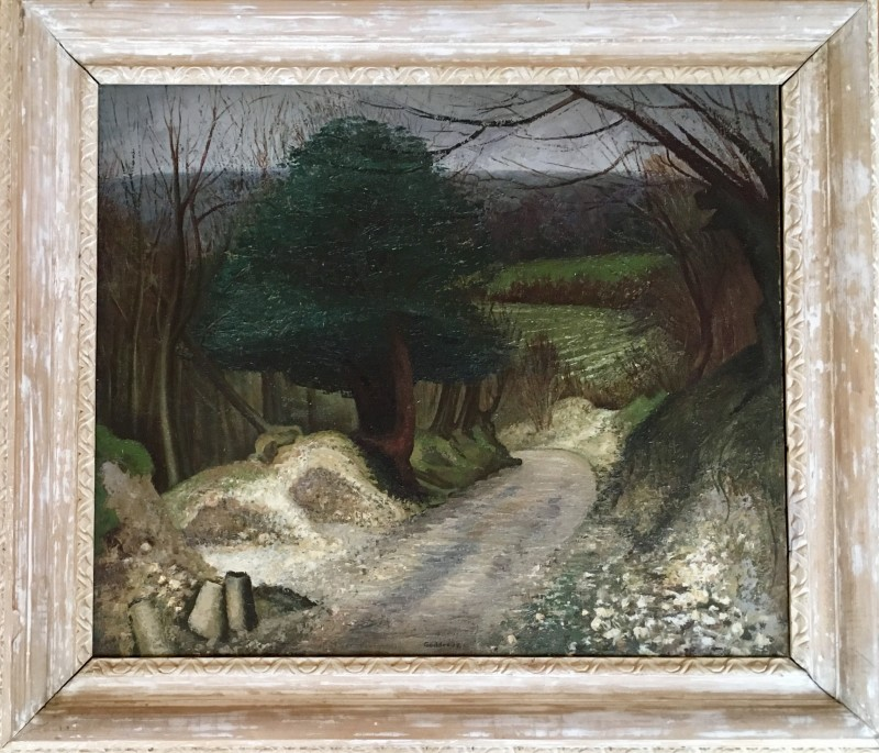 Margaret Geddes (1914-1998)A Norfolk Lane, 1947