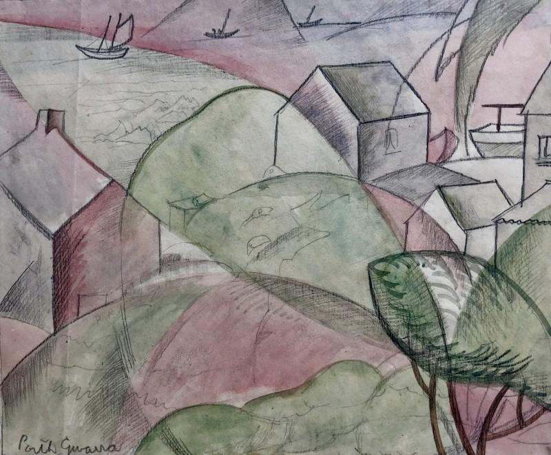 Doris Hatt (1890-1969)Porth Gwarra, Cornwall, 1935