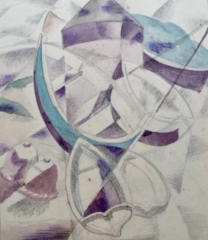Doris Hatt (1890-1969)Sennen Cove, 1950's