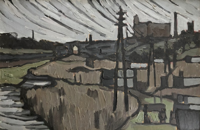 Bryan Senior (b. 1935)Deane Clough, Bolton, 1957