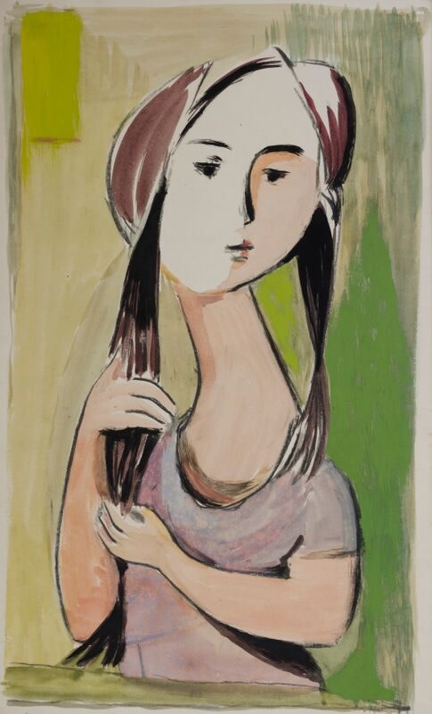 Kenneth Lauder, Young Girl, 1950