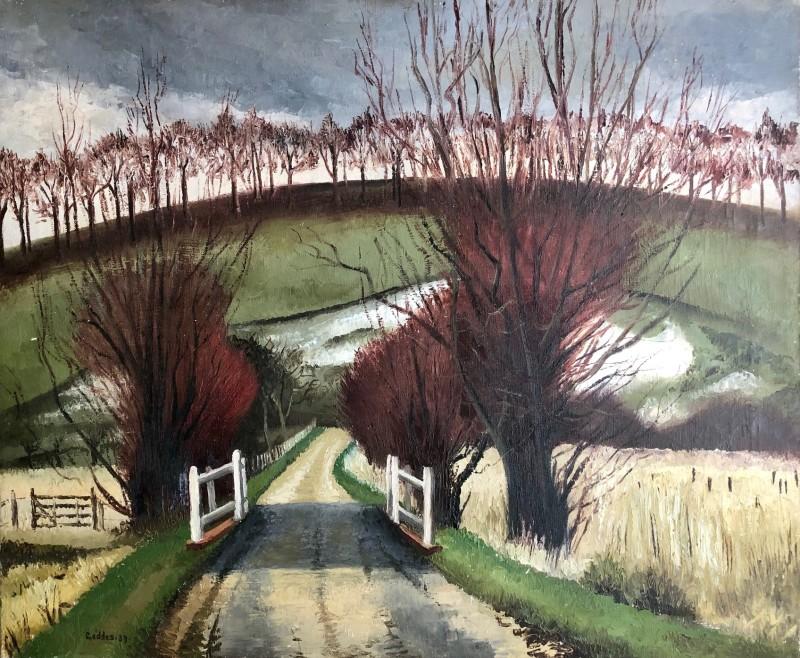 Margaret Geddes (1914-1998)Norfolk Landscape, 1939