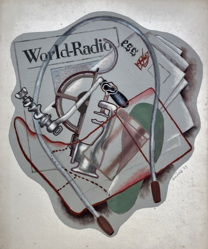 Frederick Hinchliff (1894-1962)World Radio Composition, 1937