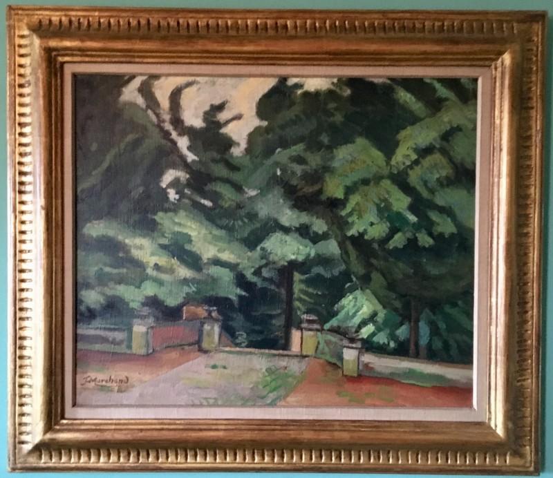 Jean Marchand, Le parc - Garsington, 1919