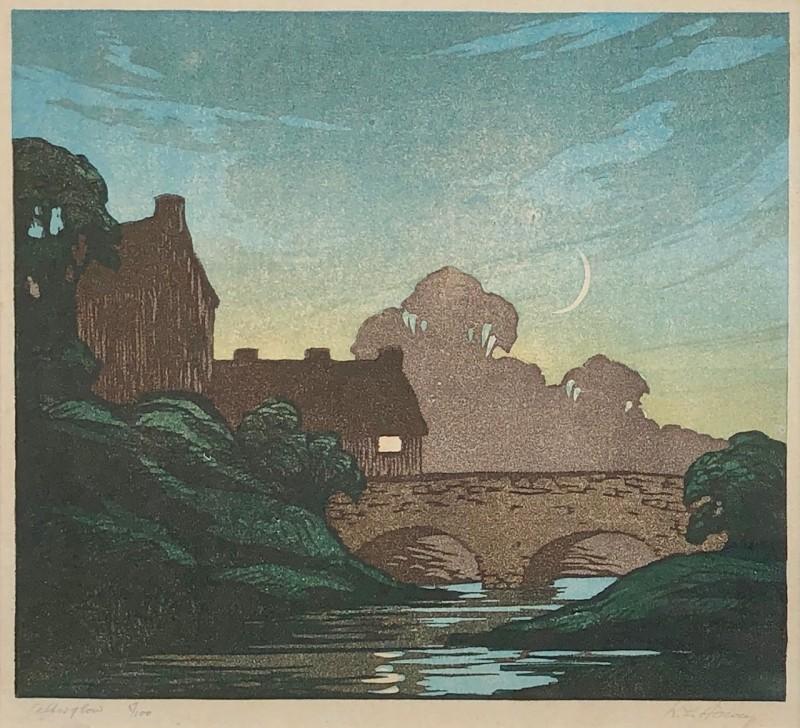 Robert Leslie Howey (1900-1981)Afterglow (or 'The New Moon'), 1933