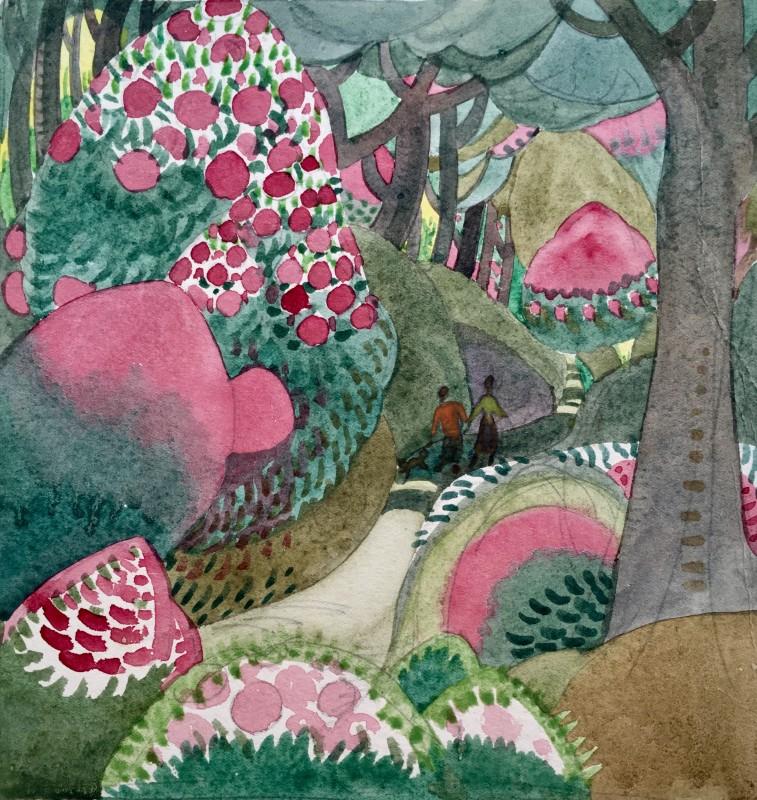 Doris Hatt (1890-1969)Devon Walk , 1920's