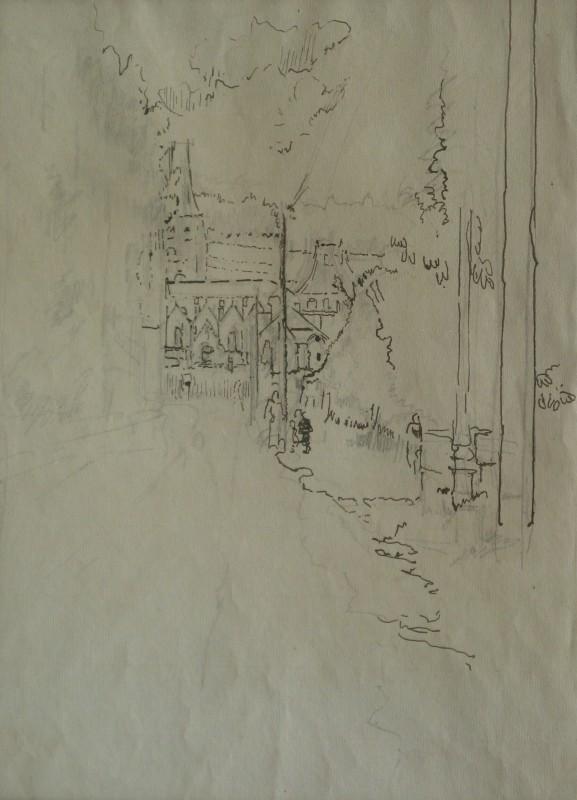 Walter Sickert, Envermeu, Nr. Dieppe, 1919