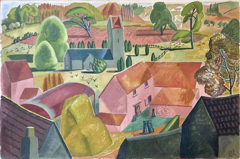 Doris Hatt, Home Farm, Walton in Gordano, 1948