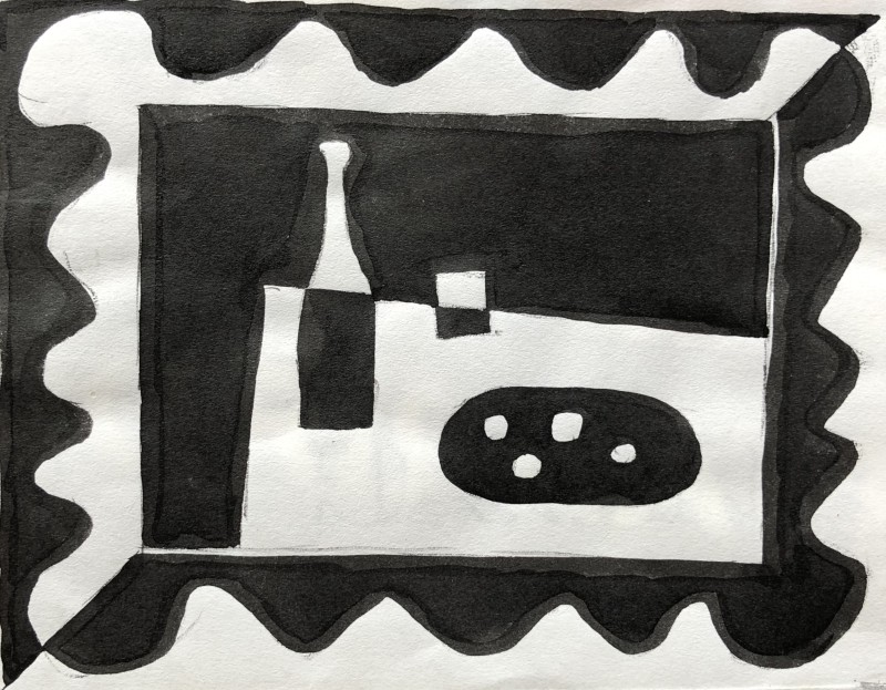 Jacques André Duffour, Still Life Design, 1951