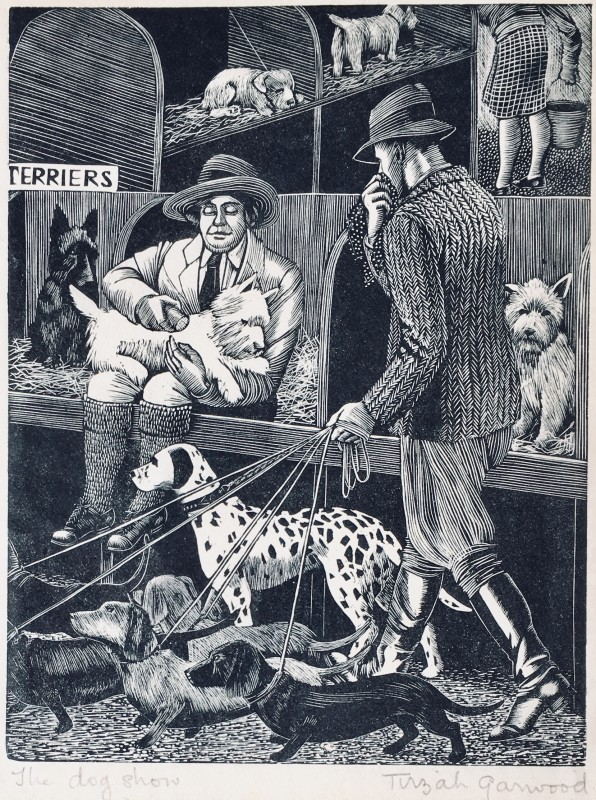 Tirzah Ravilious (1908-1951)The Dog Show, 1929