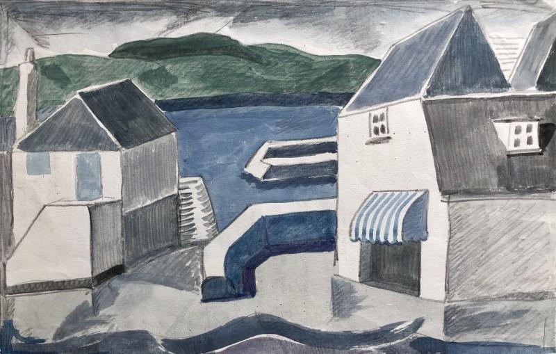 Doris Hatt (1890-1969)Padstow III, Cornwall, 1950's