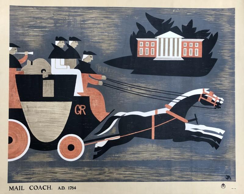 John Armstrong (1893-1973)Mail Coach, 1936