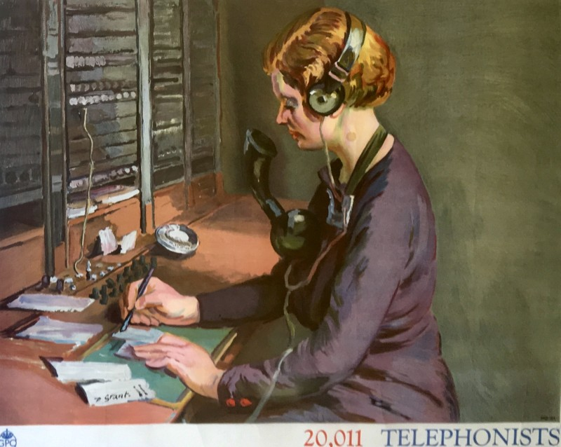 Duncan Grant (1885-1978)Telephonists: Poster IV, 1939