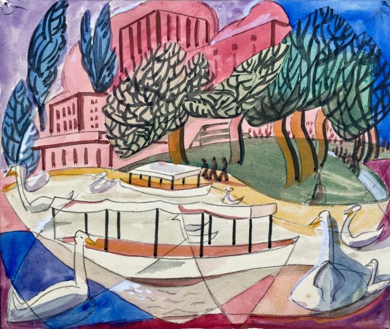 Doris Hatt (1890-1969)Stratford I, 1950's