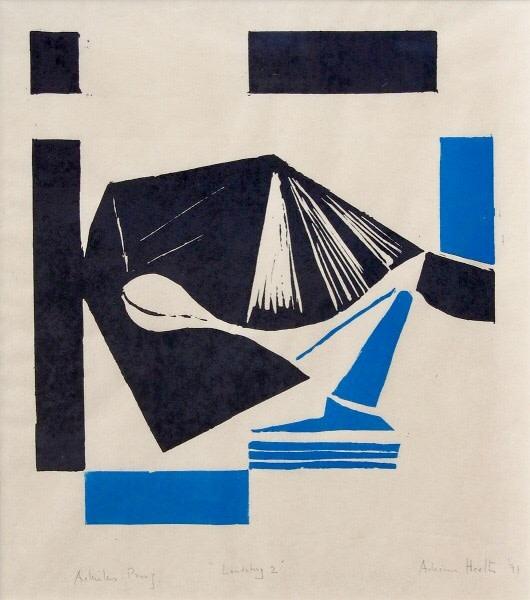 Adrian Heath (1920-1992)Landsberg 2, 1991