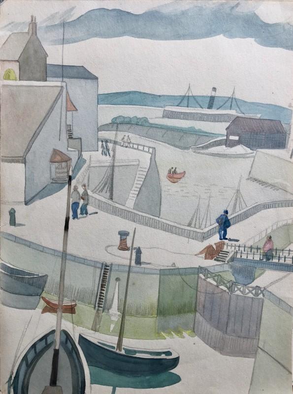 Doris Hatt (1890-1969)Honfleur, 1931