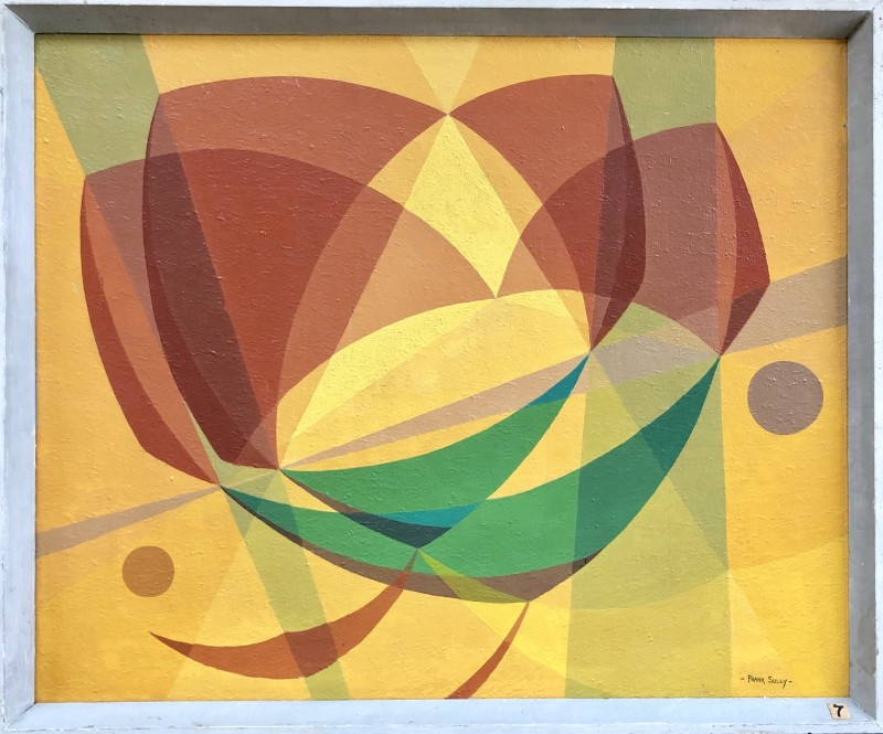 Frank Sully (1898-1992)Constructivist Composition (Buoyancy), 1950