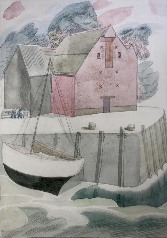 Doris Hatt (1890-1969)Padstow, 1949