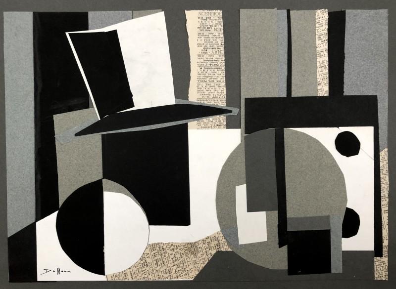 Jacques André Duffour (1926-2016)Surrealist Collage, c. 1950