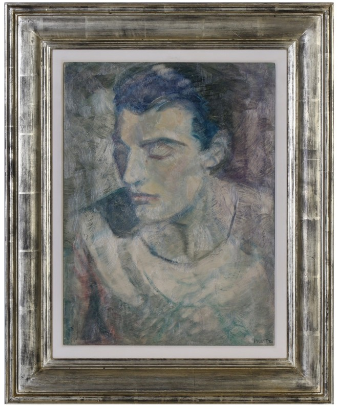 Esther Pillitz (1896-1987)Portrait of Sir Anton Dolin, c. 1930