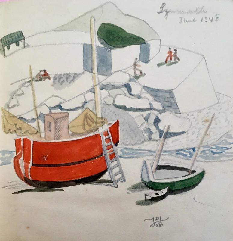 Doris Hatt (1890-1969)Lynmouth, 1948