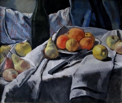 Dorothy Hepworth, Still Life with Fruit, 1925