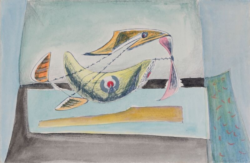 Kenneth Lauder (1916-2004)Flight Vehicle 6, 1945