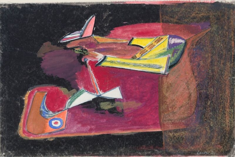 Kenneth Lauder (1916-2004)Flight Vehicle 4, 1945