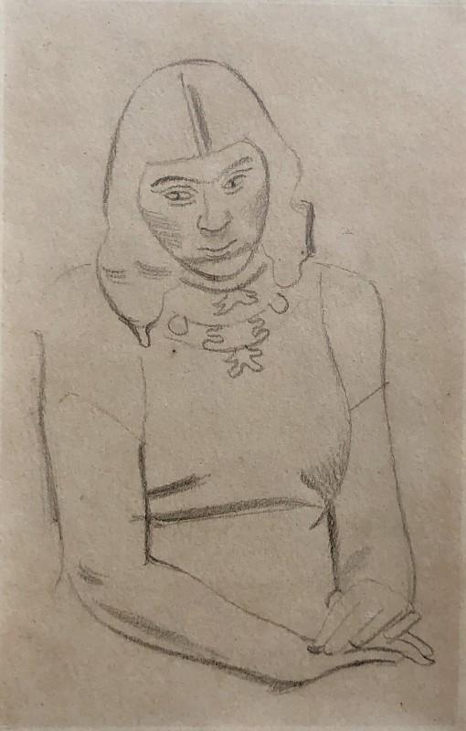 William Roberts (1895-1980)Art Student, 1948