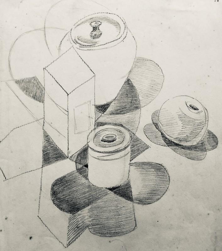 Doris Hatt, Cubist Still Life Study, c. 1940s
