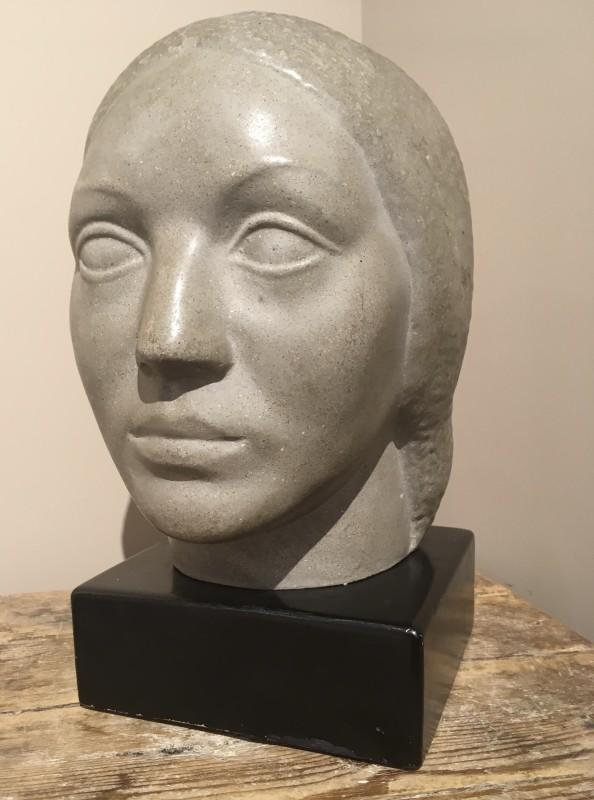 Humbert Albrizio (1901-1970)HEAD OF A WOMAN, 1948