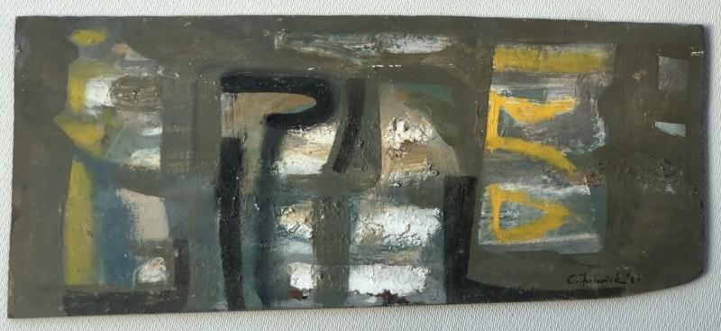 Clifford Fishwick (1923-1997)Composition, 1960