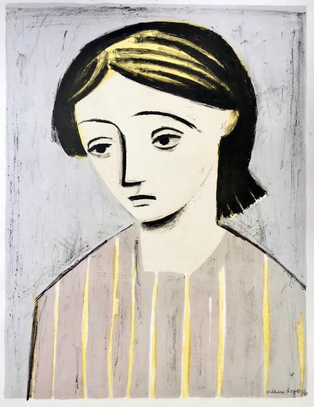William Scott (1913-1989)Portrait of a Girl, 1948