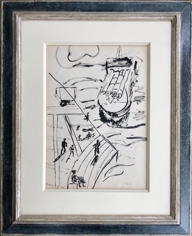 Fernand Léger, La peniche, etude pour la ville, c. 1920s